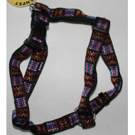 Harness knitted embroidery 2x35-50cm