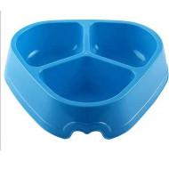 Plastová miska trojitá 30x22x6,5cm / 1,8l