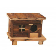 Dřevěný domeček Andy 18x13x13,5cm