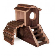 Wooden house Vania 17x17x10cm