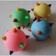 Balls artificial barbs with 4 cm