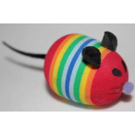 Myš dúhová 5cm
