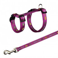 Harness for guinea pigs with a motive 1x21-35cm