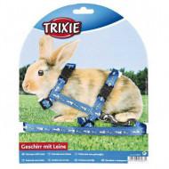Postroj na králika s motívom 1x25-44cm