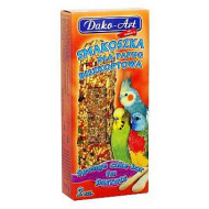 Tyčinky pre andulky a malé papagáje -piškótové 2ks