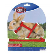 Harness for rabbit 0,8x25-44cm