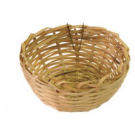 Wicker bamboo nest 10 cm