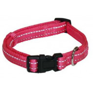 Reflective nylon collar 1,5x30-45cm