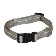 Reflective nylon collar 2x35-55cm