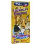 DAKO - ART Tyčinky pre hlodavce - piškotové 2ks