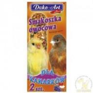 DAKO - ART Tyčinky pre kanárikov -ovocné 2ks