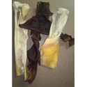 Sušená hovězí kůže od 40cm přírodní