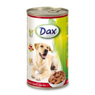 Dax can for beef dogs 1240g