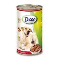 Dax konzerva pro psy hovězí 1240g