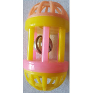 Plastic roller with rollers 8cm