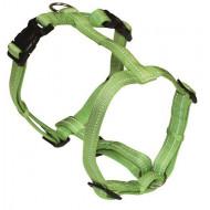 Nylon reflective green harness
