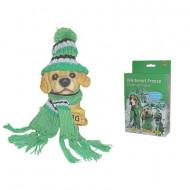 Zimní set pro psy - klobouk, šátek S