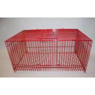 Přepravka červená 29x18x14cm