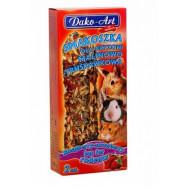 DAKO - ART Sticks for rodents - berry 2pcs
