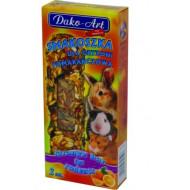 DAKO - ART Tyčinky pre hlodavce - pomarančové 2ks