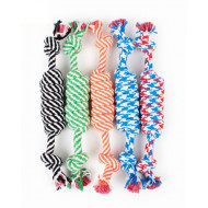 Rope toy for dog 24x3,5cm