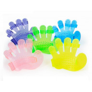Masážní gumová rukavice