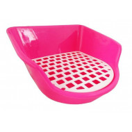 Toilet for guinea pigs and rabbits 23x23x13cm