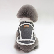 Kabát Dog Baby sivý