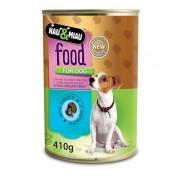 Konzerva HM morčacie mäso v šťave pre psov 400 g