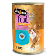 HM chicken in cat juice 400 g