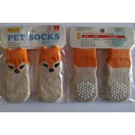 Ponožky Liška - XL