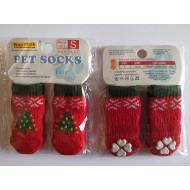 Ponožky Vánoční - S