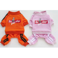 Overalls SuperStar pink