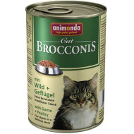 ANIMONDA BROCCONIS game and poultry 400g