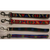 Nylon leash with pattern
